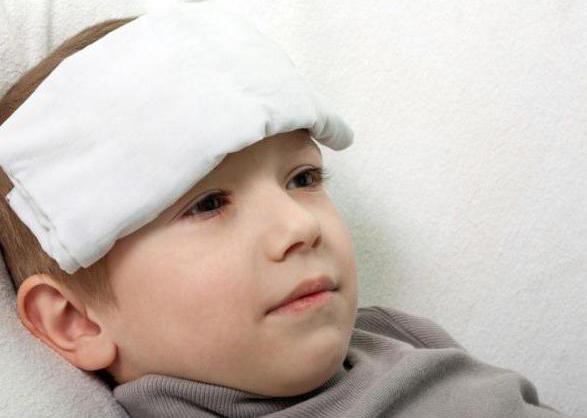гематома на лбу после падения у ребенка