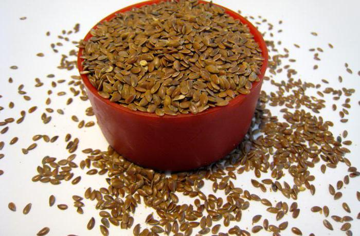 Как принимать семя льна при гастрите