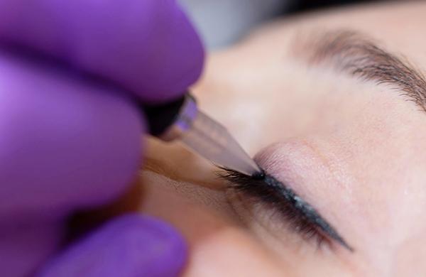 вывести татуаж глаз