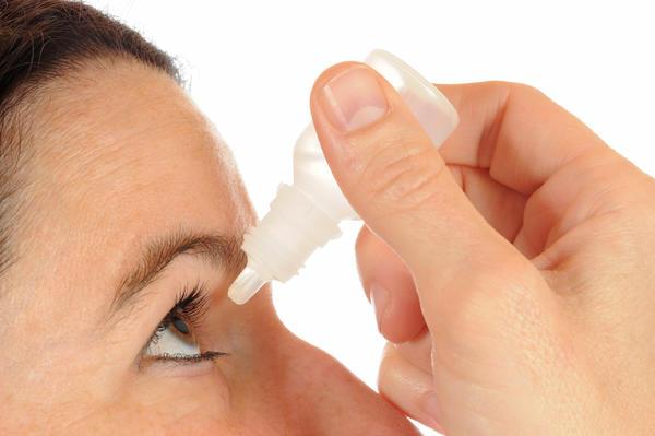 Антибактериальные капли для глаз