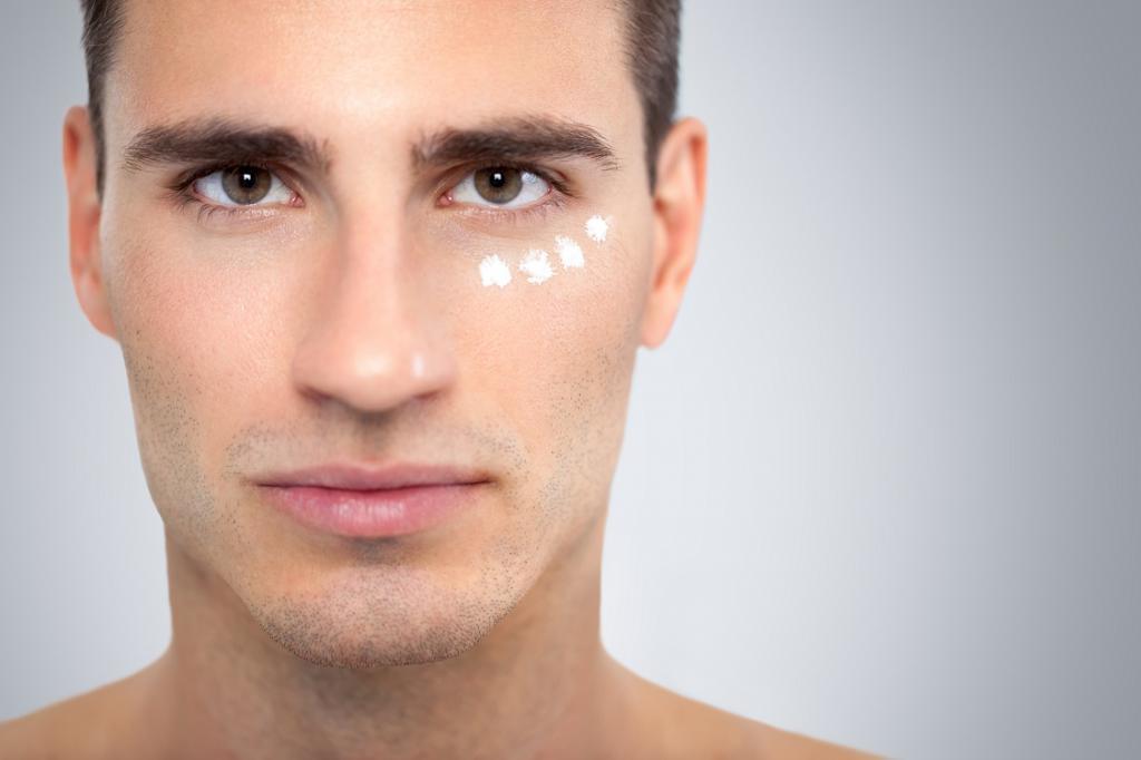 Крем от морщин и мешков под глазами для мужчин