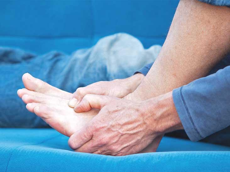 Боли в пальцах ног при ходьбе