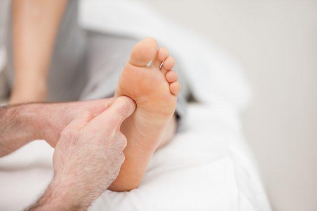 причины боли на подушечках