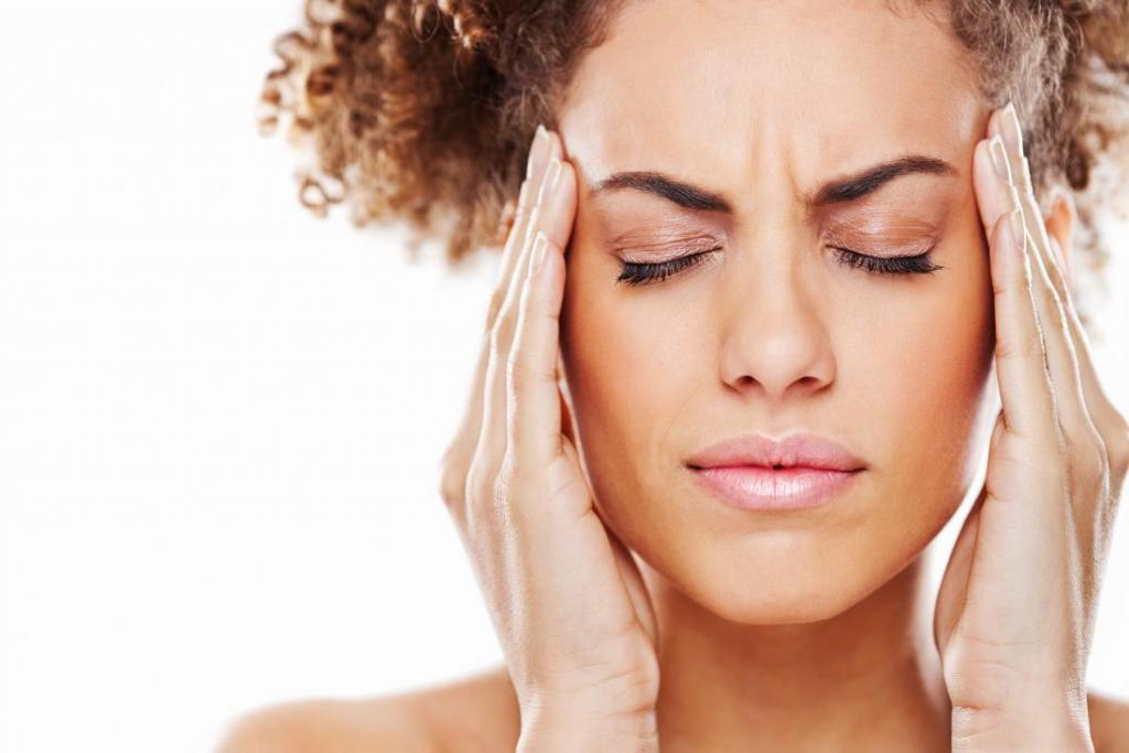 что делать если болит голова в висках