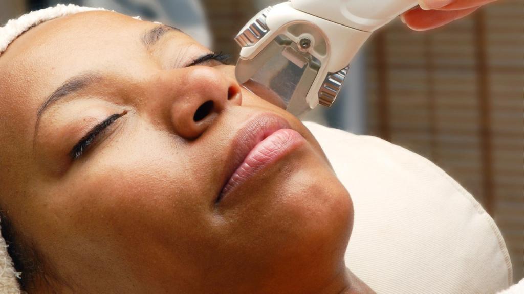 Сеанс лазерной терапии