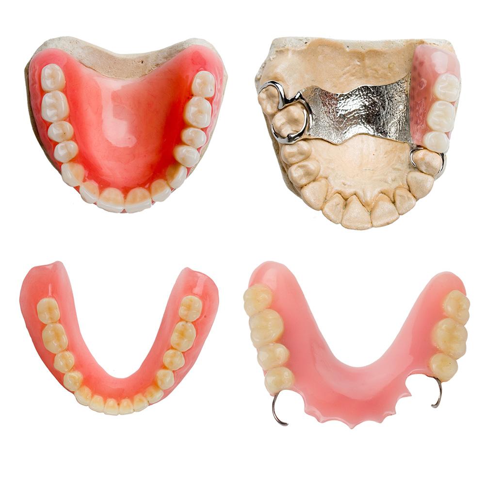 Материалы для съемного протезирования зубов