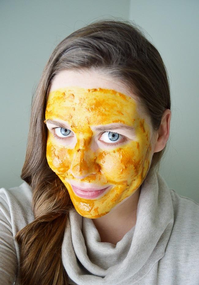 Медовая маска